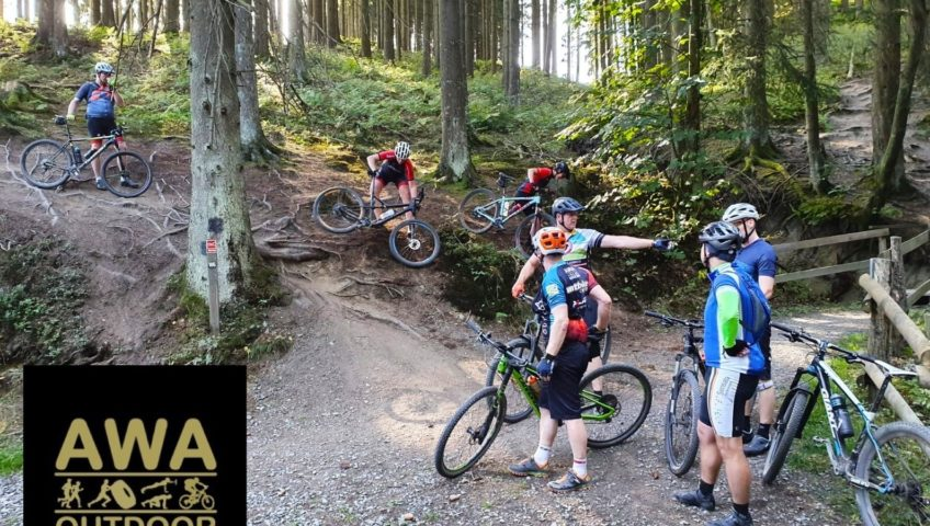 AWA Outdoor sports mountainbike trainingen Enschede Almelo